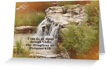 Christ who strengthens me by Offshoots12