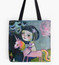 I ride upon my own Magic Tote Bag