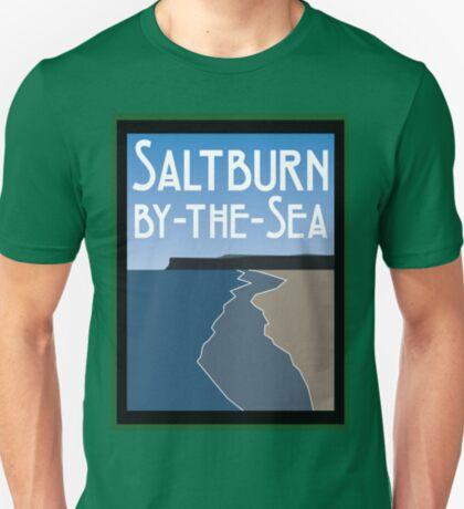 NDVH Saltburn Beach - Art Deco T-Shirt