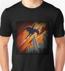 Flying Super hero Unisex T-Shirt