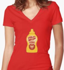 The Faddest Thing Women's Fitted V-Neck T-Shirt