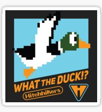 What the Duck!? (Game Cover) Sticker