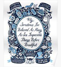 sechs unmögliche Dinge Poster