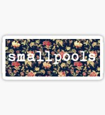 Floral Smallpools Sticker