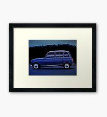 Renault 4 Painting Framed Print