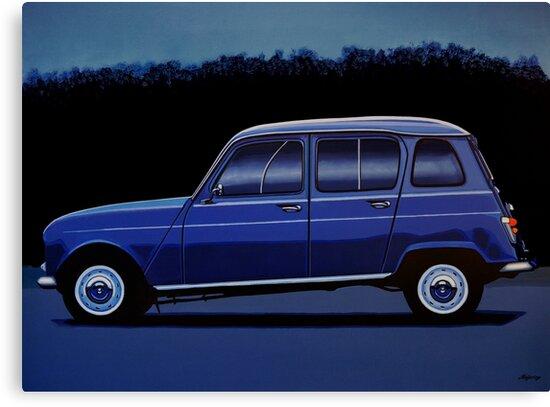 Renault 4 Painting by PaulMeijering