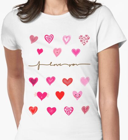 Cute Hearts T-Shirt