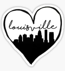I Heart Louisville Sticker