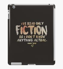 I've Read Only Fiction - Anna Torv (Red) iPad Case/Skin