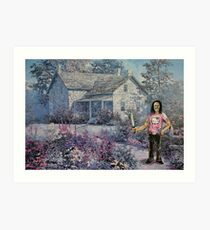 Danny's Cottage Garden Art Print