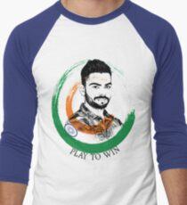Virat Kohli Men's Baseball ¾ T-Shirt