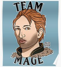 Team Mage Anders Poster