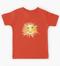Sun Or Moon Or Stars Up In The Sky Kids Tee