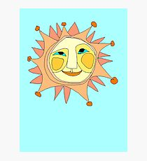Sun Or Moon Or Stars Up In The Sky Photographic Print