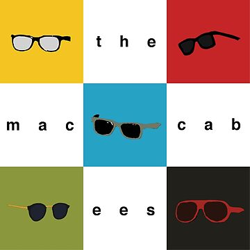 The Maccabees - Wall of Arms by RadioDesigns