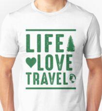 Life - Love - Travel T-Shirt