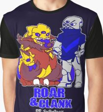 Roar and Clank Props + Hellefoot shirt Graphic T-Shirt
