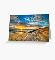 Sunset at Cottesloe 4 Greeting Card