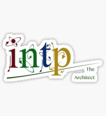Myers-Briggs INTP - The Architect Sticker