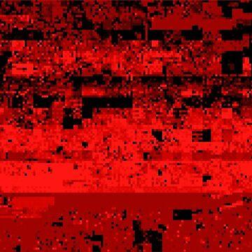 Virtual Boy Red Glitch by p13t3rm