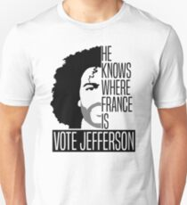 Vote For Jefferson Unisex T-Shirt