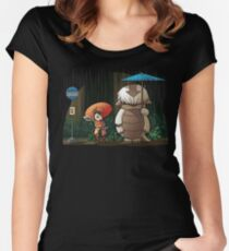 My Neighbor Sky Bison Women's Fitted Scoop T-Shirt