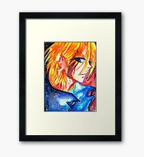 The Villain Framed Print