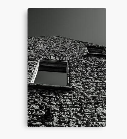 Abandoned Building - Elora, Ontario Canvas Print