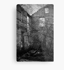 Interior, Abandoned Building - Elora, Ontario Metal Print