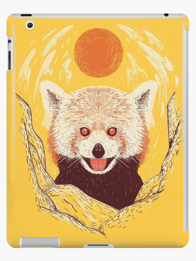 Red Panda on a Sunny Day by Rendra .
