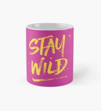 Stay Wild - Pink & Yellow Mug