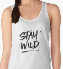 Stay Wild - Black Women's Tank Top