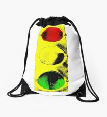 Street Light Clothing Drawstring Bag