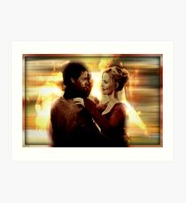 Emma Swan and Neal Cassidy  Art Print