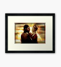 Emma Swan and Neal Cassidy  Framed Print