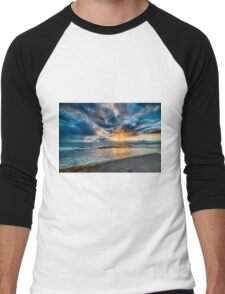 Sunset at Cottesloe 5 Men's Baseball ¾ T-Shirt