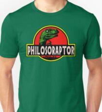 Philosoraptor Meme Funny Velociraptor Dinosaur T Shirt Unisex T-Shirt