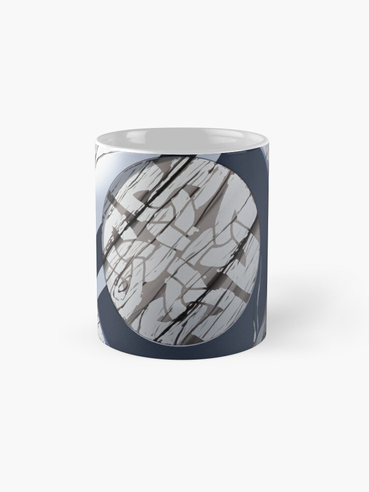 Alternate view of Celtic Buckler Shield Mugs