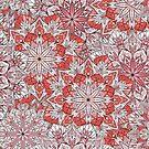 Runde Hand gezeichnet Ornament Muster von Viktoriia