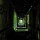 Ghostly Hallway by Okeesworld