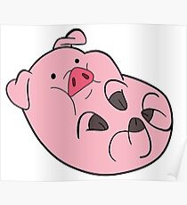 Waddles from gravity falls! Clothing, cups, and more! Poster