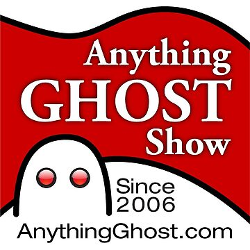 Anything Ghost Black and Red Logo by anythingghost