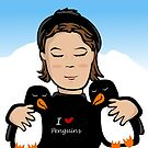 This Girl Loves Penguins by elledeegee