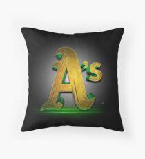 A's MOS Throw Pillow