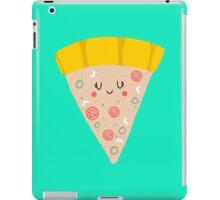 Cute funny smiling pizza slice iPad Case/Skin