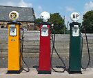 Vintage Fuel Pumps by Yampimon