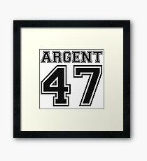 Allison Argent 47 Framed Print