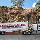 Gumdale Truck Trailer 2 by Keith Hawley