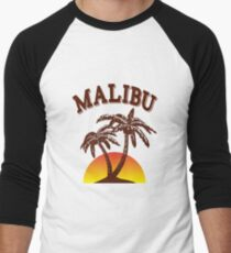 Malibu rum  Men's Baseball ¾ T-Shirt