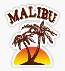 Malibu rum  Sticker